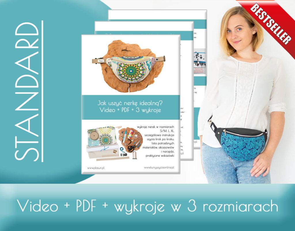 jak uszyć nerkę idealną kurs szycia online Kamila Plasun