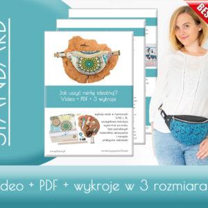 """Kurs Video """"Jak uszyć idealną nerkę klasyczną z tkaniny,skóry i ekoskóry"""" – pakiet standard"""