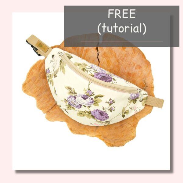 free darmowy tutorial laj uszyć nerkę z trzech elementów