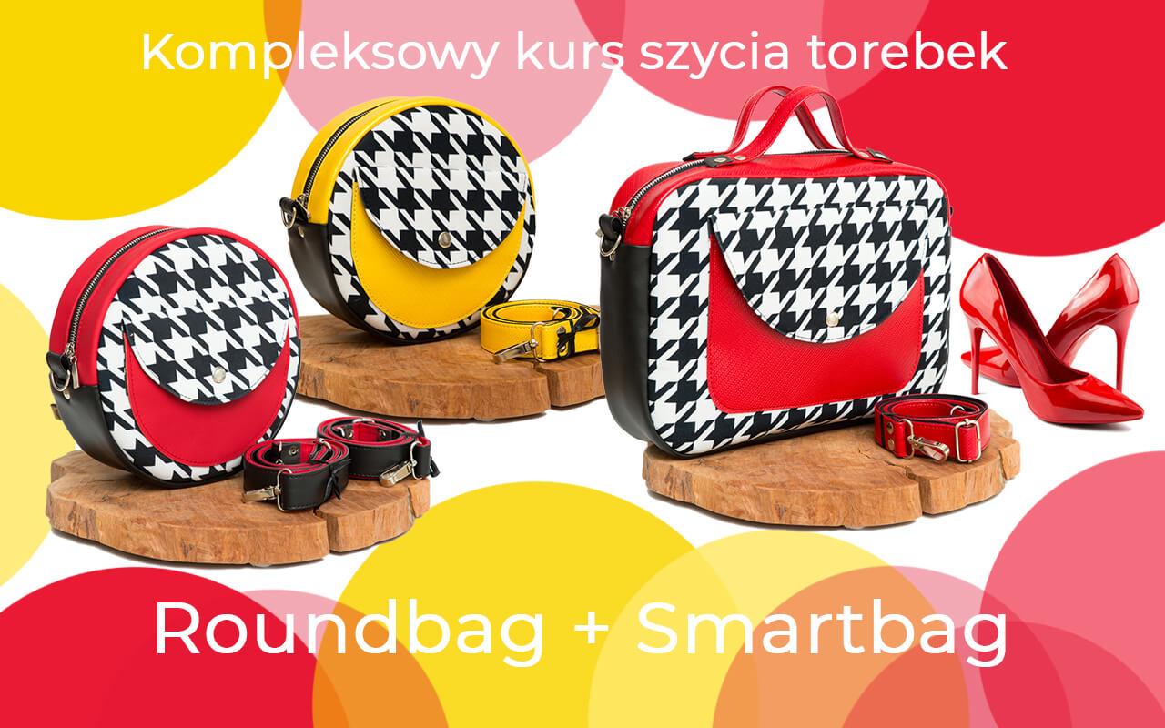 kurs online jak uszyć idealnie dopracowane torebki okrągłe i prostokątne typu box