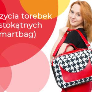 189 zł Kurs szycia Smartbagów – torebek prostokątnych typu box