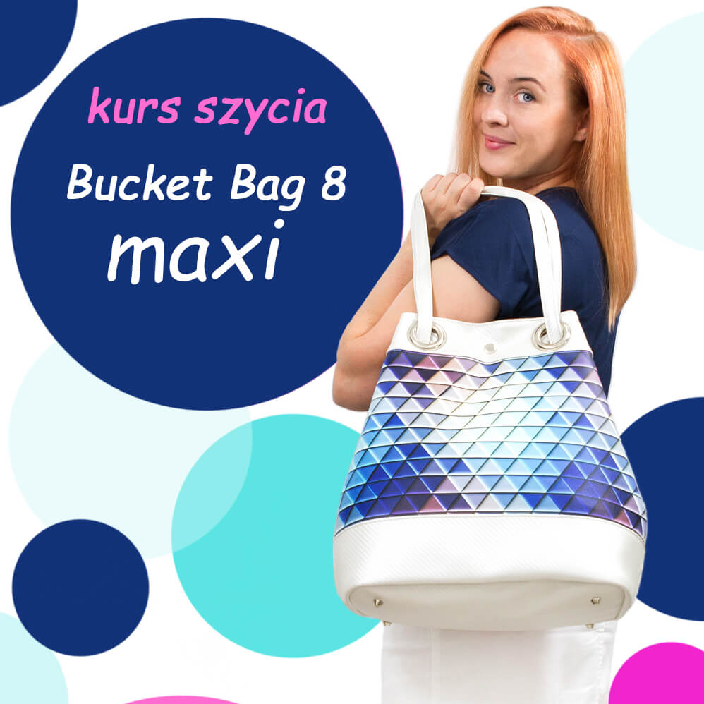 jak uszyć torebkę bucket bag kurs szycia online