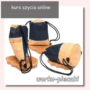 Kurs szycia worko-plecaków dla całej rodziny – 3 modele