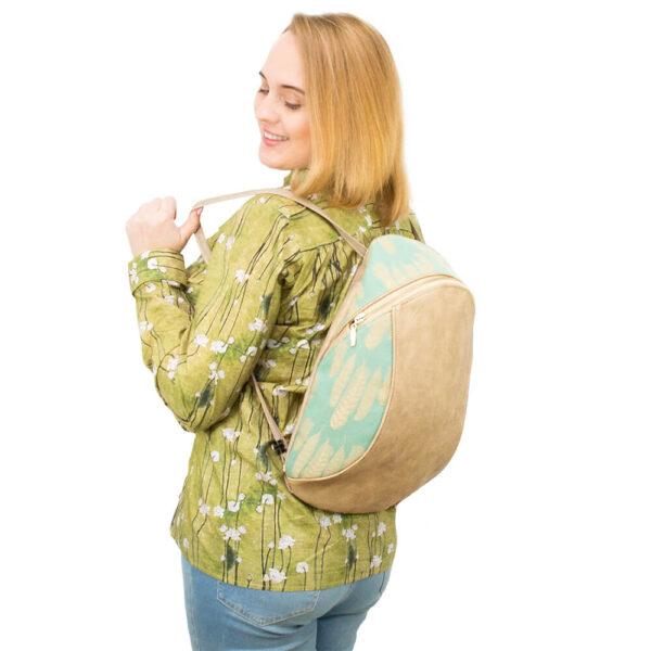 jak uszyć plecak - kurs szycia online by Kamila Plasun