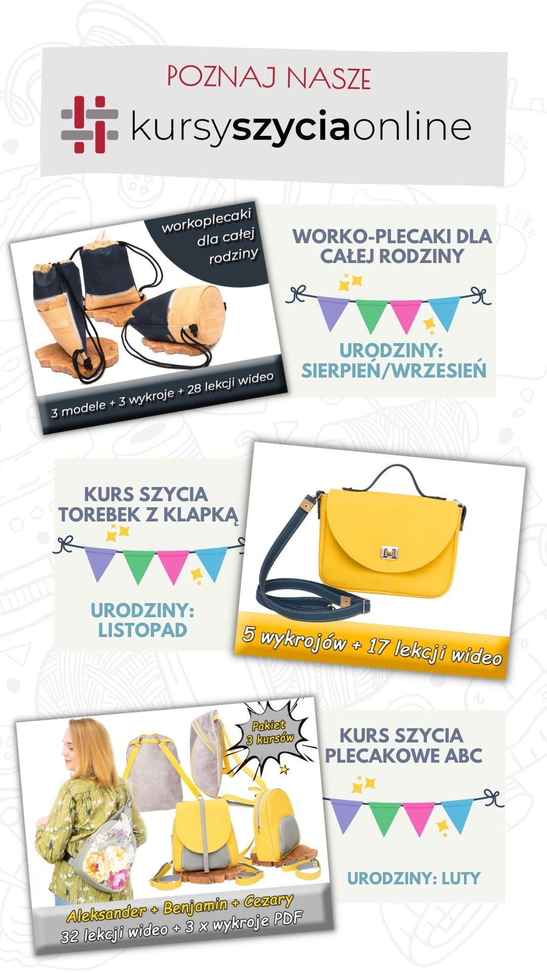 kursy szycia online by Kamila Plasun promocja