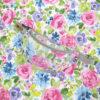 bawełna impregnowana taknina obiciowa tapicerska tkaniny do szycia nerek na metry kursy szycia online Pastelowy ogród
