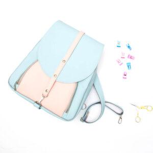 """""""Niebieski Benjamin"""" – materiałowy pakiet startowy do samodzielnego uszycia plecaka"""