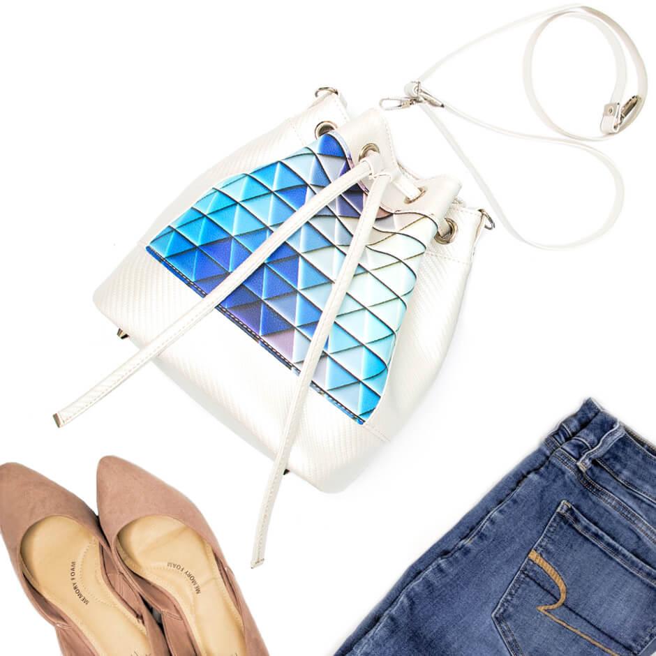 jak uszyć torebkę bucket bag-kurs szycia online by Kamila Plasun