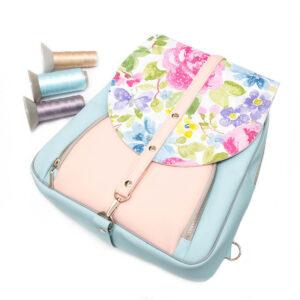 """""""Kwiatowy Benjamin"""" – materiałowy pakiet startowy do samodzielnego uszycia plecaka"""