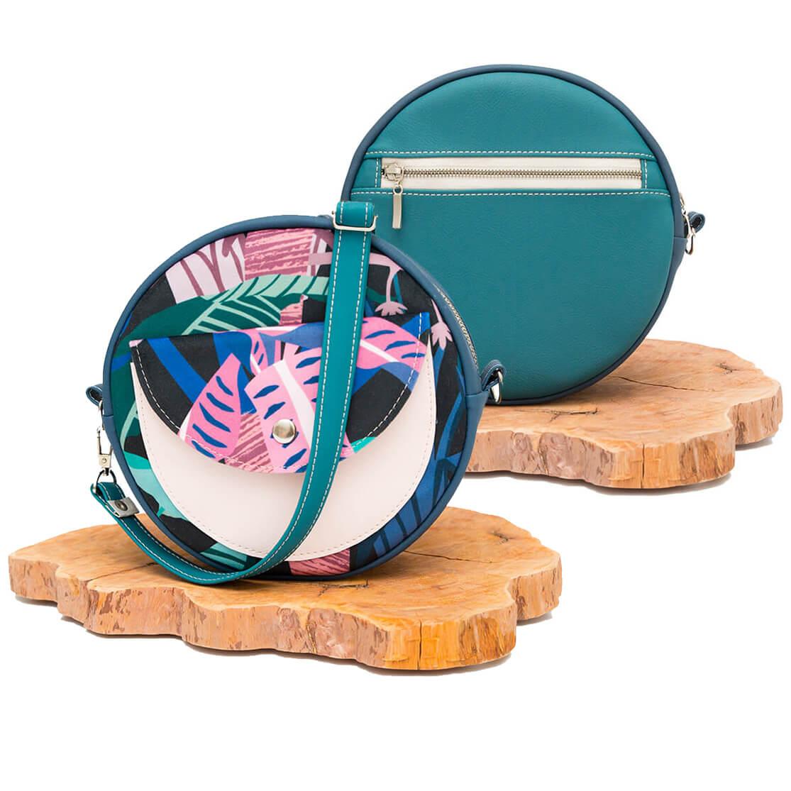 Jak uszyć okrągłą torebkę kurs szycia online by kamila plasun