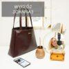 Shopper bag Joanna 2 jak uszyć szoperkę z doszywanymi bokami wykrój pdf