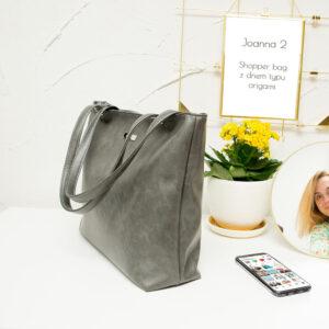 Joanna 2 – wideo tutorial jak uszyć SHOPPER BAG model Joanna 2