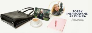 Read more about the article Torby inspirowane #1 Chyłka – serialowa inspiracja. Jak uszyć elegancki shopper bag z ekoskóry (3 tutoriale + wykroje)