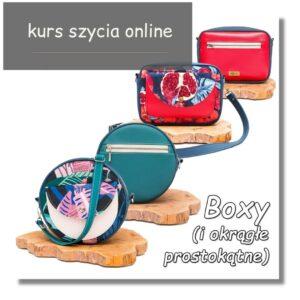 Jak uszyć torebkę box box bag smartbag roundbag jak uszyć okragłą torebkę