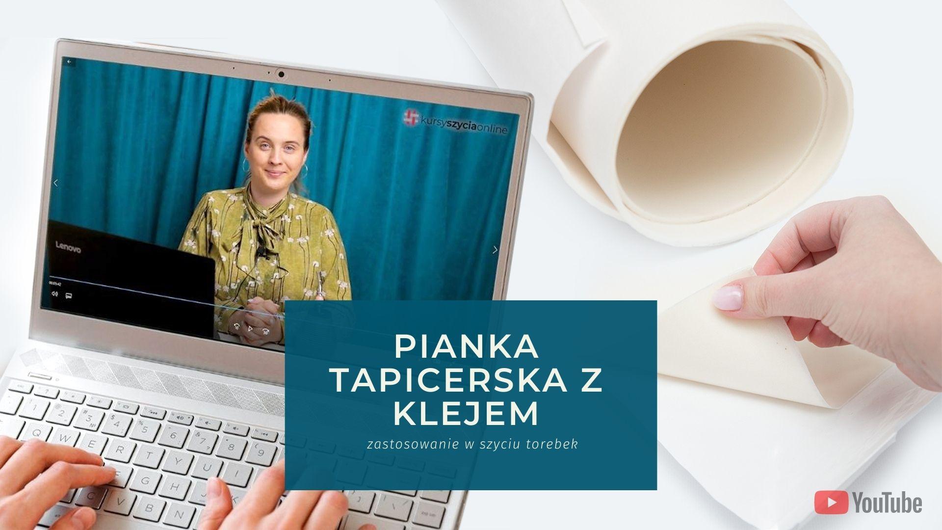 Read more about the article Pianka tapicerska, samoprzylepna z klejem – zastosowanie w szyciu torebek.
