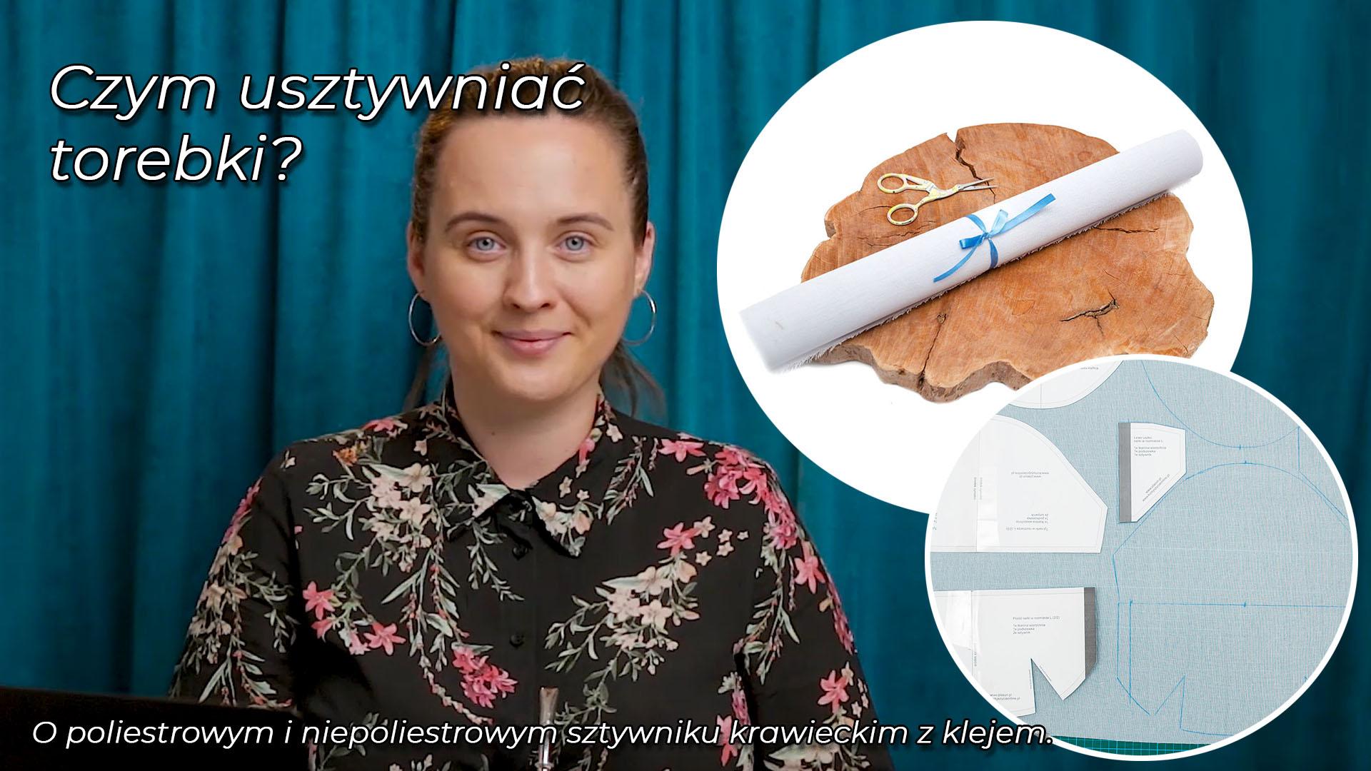 Read more about the article Czym usztywniać torebki? O poliestrowym i niepoliestrowym sztywniku krawieckim z klejem (test,porównanie)