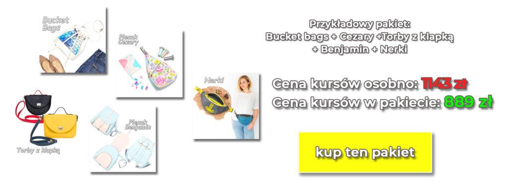 pakiety kursów szycia online
