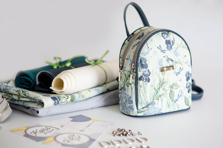 Jak uszyć plecak dwukomorowy bez lamowania brzegów