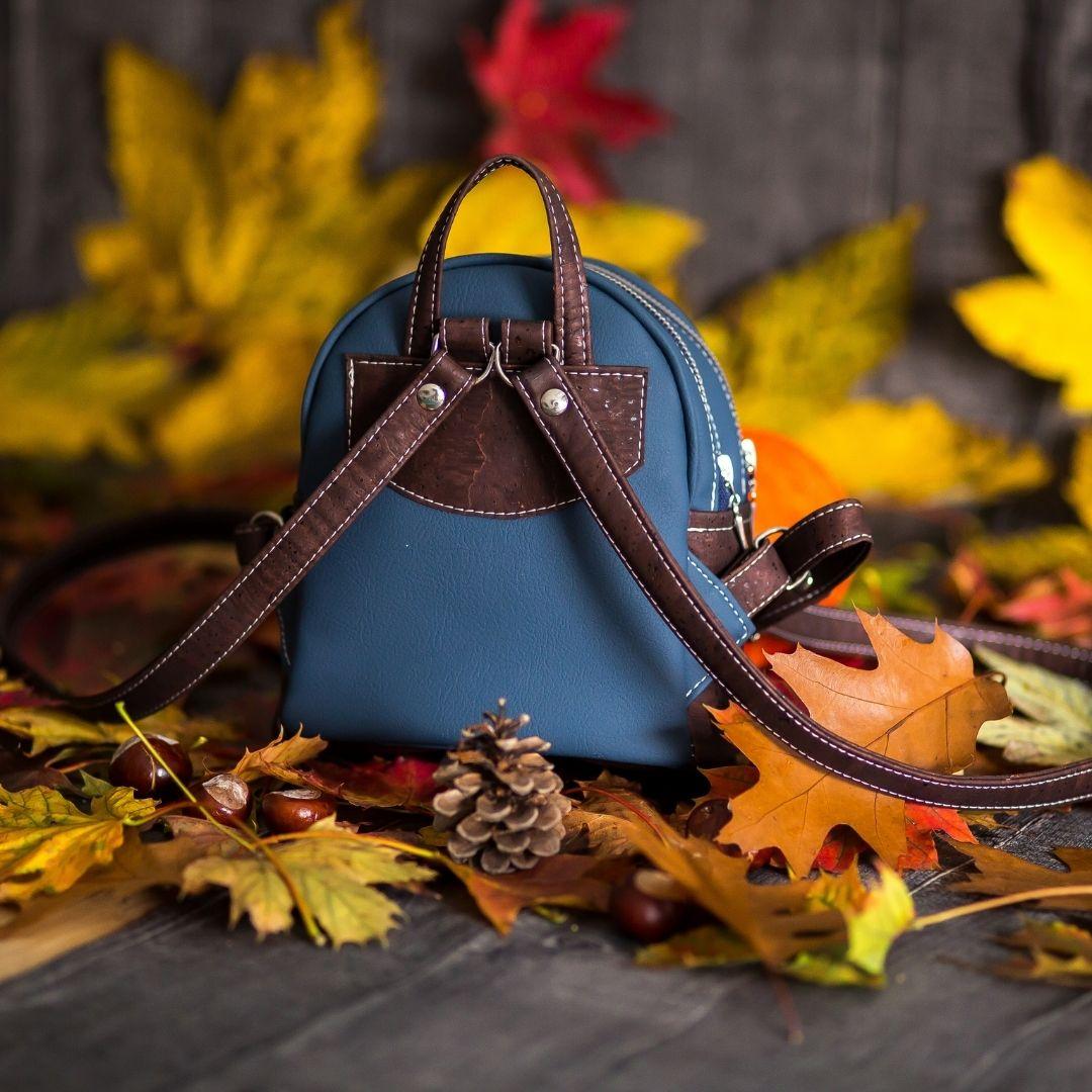 Jak uszyć plecak dwukomorowy bez lamowania brzegów, model mona w