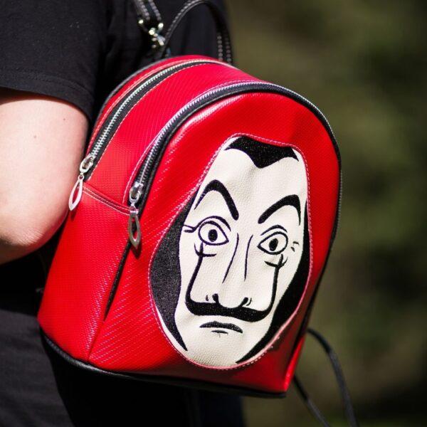 Jak uszyć plecak dwukomorowy bez lamowania brzegów, model mona